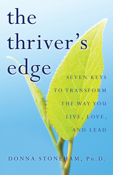 The Thriver's Edge - book cover