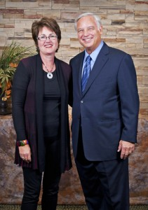 "Donna Stoneham with Jack Canfield, author of ""Chicken Soup for the Soul"""