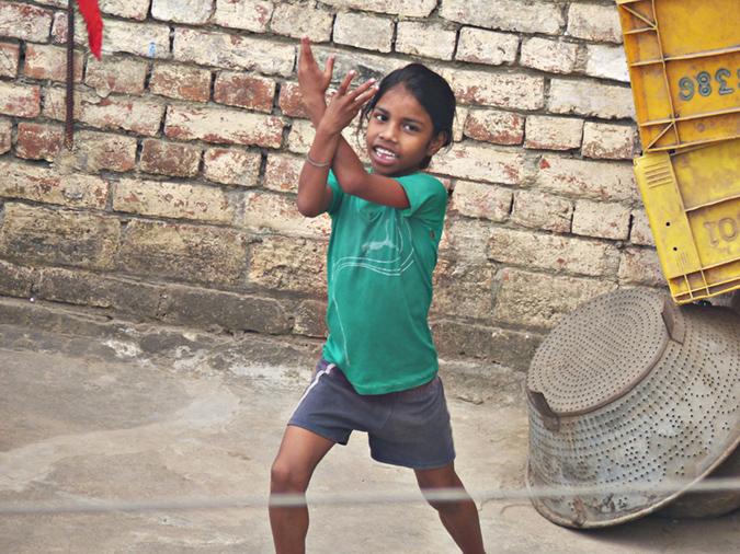 Dancing in Varanasi